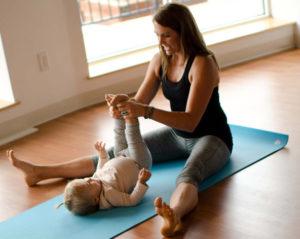 Mom and Baby Yoga Wellesley